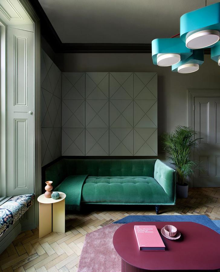 Фото №1 - Яркий дом с коллекцией искусства в Дублине