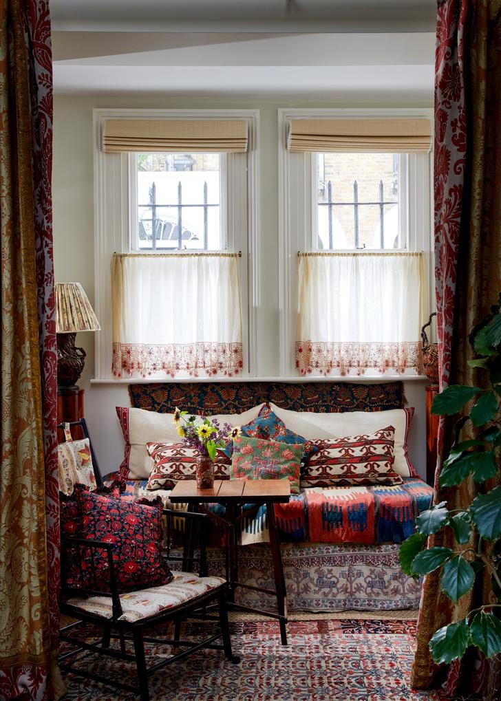 Фото №3 - Дом текстильного дизайнера Натали Фарман-Фармы в Лондоне