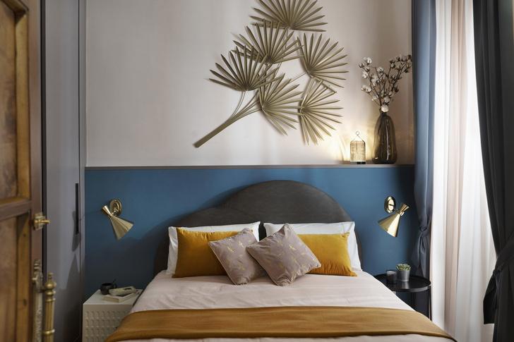 Фото №10 - Стена над изголовьем кровати: 10 идей декора