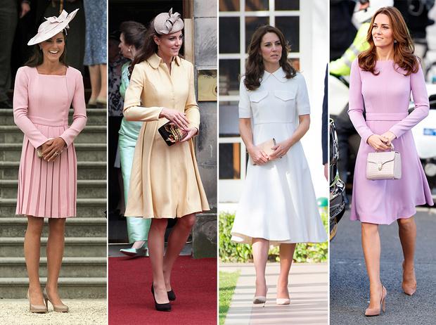 Фото №14 - Почему Кейт носит старые наряды, а Меган покупает новые