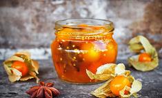 Физалис, маринованный в апельсиновом соке