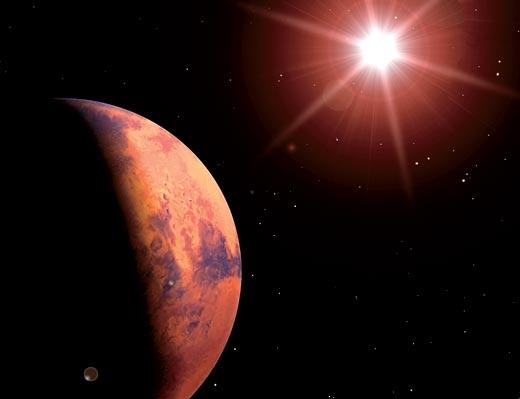 Фото №1 - Марс максимально приблизится к Земле впервые за 10 лет