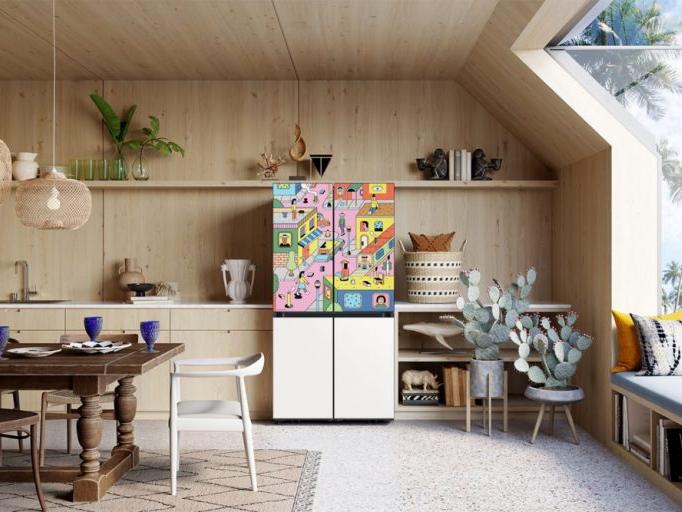 Фото №1 - Как холодильник Bespoke стал объектом поп-арта