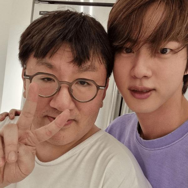 Фото №1 - Джин из BTS рассказал, чем он гордится больше всего 😭💔