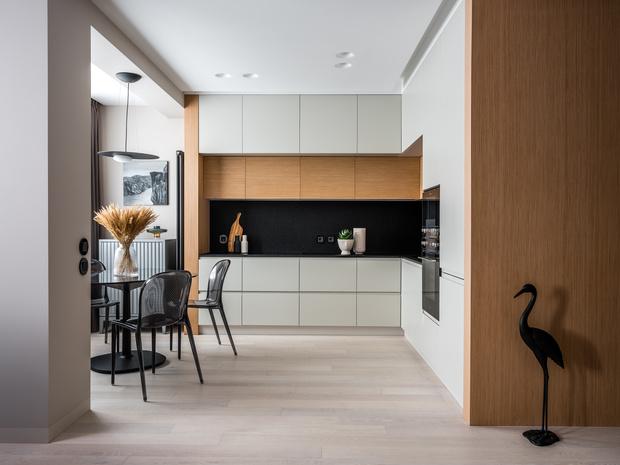 Фото №4 - Лаконичная квартира с черными акцентами