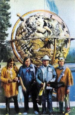 Фото №1 - Индейцы во Дворце Наций