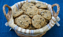 Печенье с изюмом за 5 минут