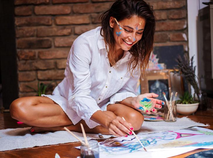 Фото №1 - Психология и творчество: 8 приемов арт-терапии, которые помогут понять себя лучше
