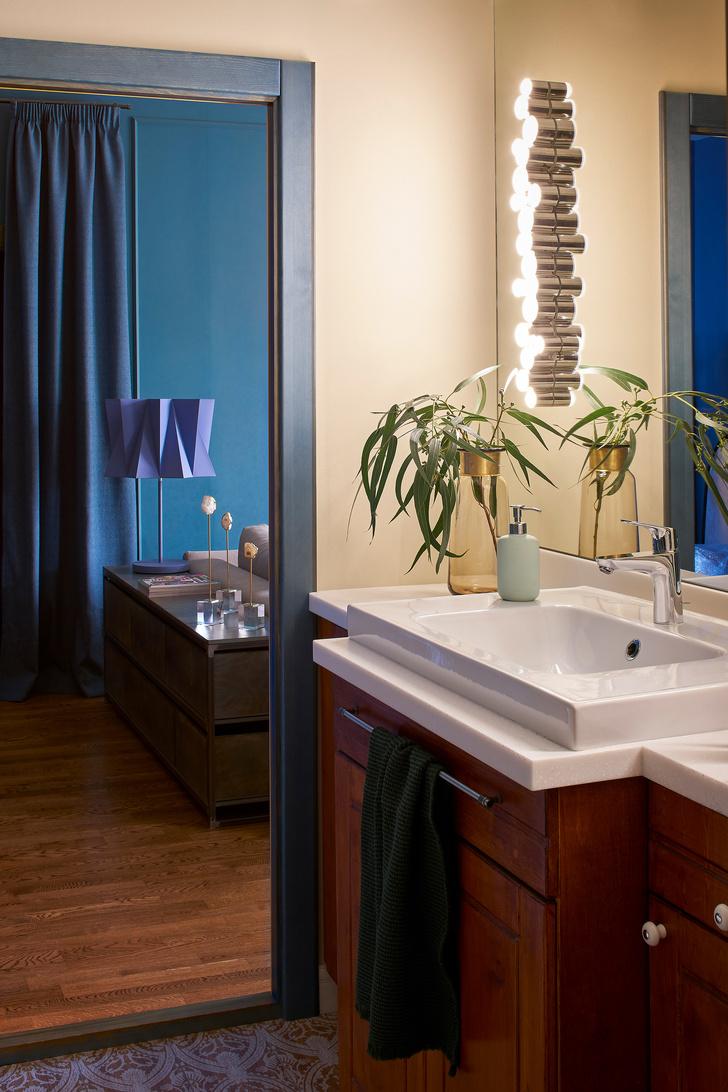 Фото №9 - Синяя квартира 53 м² в Екатеринбурге