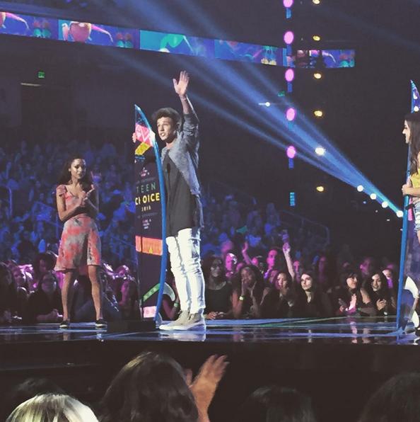 Фото №28 - Звездный Instagram: Teen Choice Awards 2015