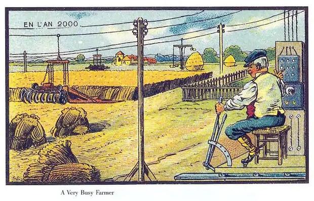 Фото №3 - Как люди изображали наше время сто лет назад
