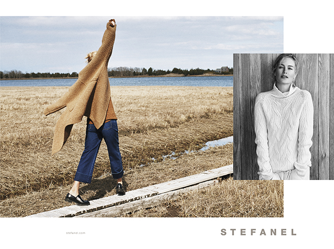 Фото №4 - Кэролин Мерфи - лицо рекламной кампании STEFANEL