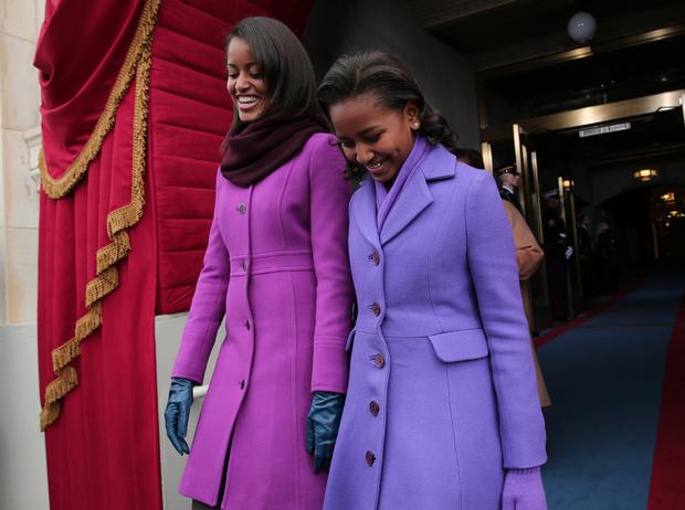 Фото №2 - Детки из золотой клетки: что стало с Малией и Сашей Обама