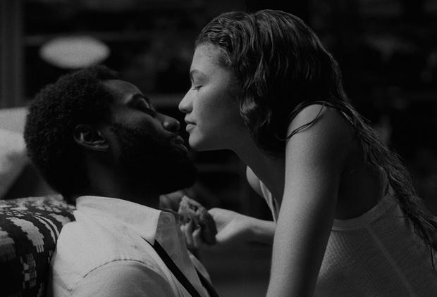 Фото №3 - Однажды в Голливуде: черно-белый стиль в драме «Малкольм и Мари»