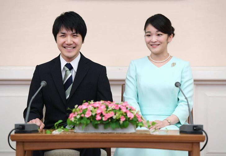 Кэи Комуро и принцесса Мако