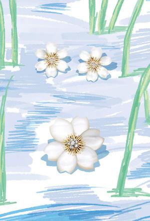 Фото №2 - Зимние цветы: Van Cleef & Arpels представил новую изящную коллекцию
