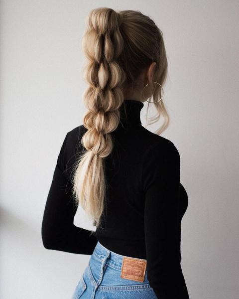Фото №8 - Хвост как у Арианы Гранде и еще 7 стильных причесок для длинных волос