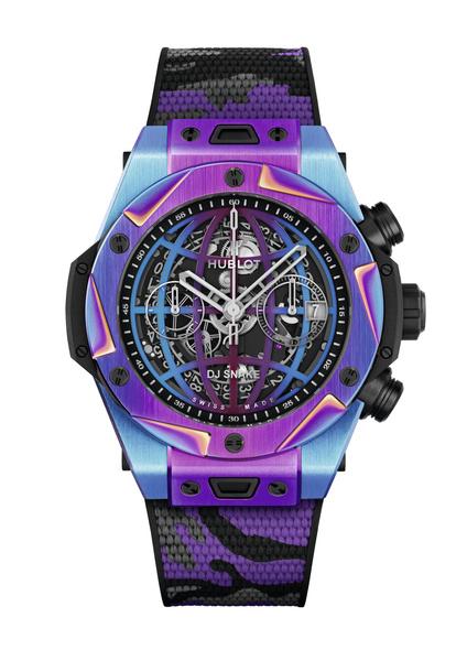 Фото №5 - Часы Hublot x DJ Snake в цветах вечеринки, которую вы не захотите пропустить