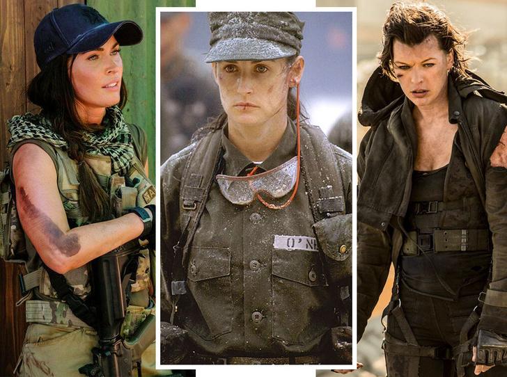 Фото №1 - «Солдат Джейн» и еще 9 фильмов о женщинах, для которых нет ничего невозможного