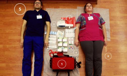 Фото №1 - Петербургские врачи присоединились к флешмобу TetrisСhallenge
