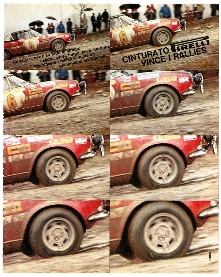 Фото №3 - Иногда они возвращаются: Pirelli представляет новое поколение шины Cinturato P7