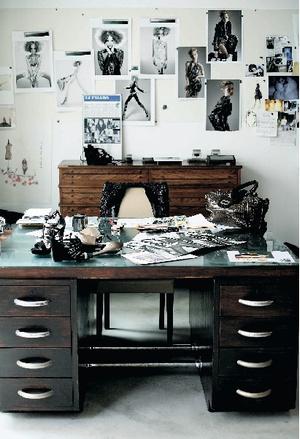 Фото №4 - Парижская студия дизайнера Барбары Бюи