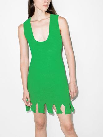 Фото №2 - Green summer: платье Bottega Veneta