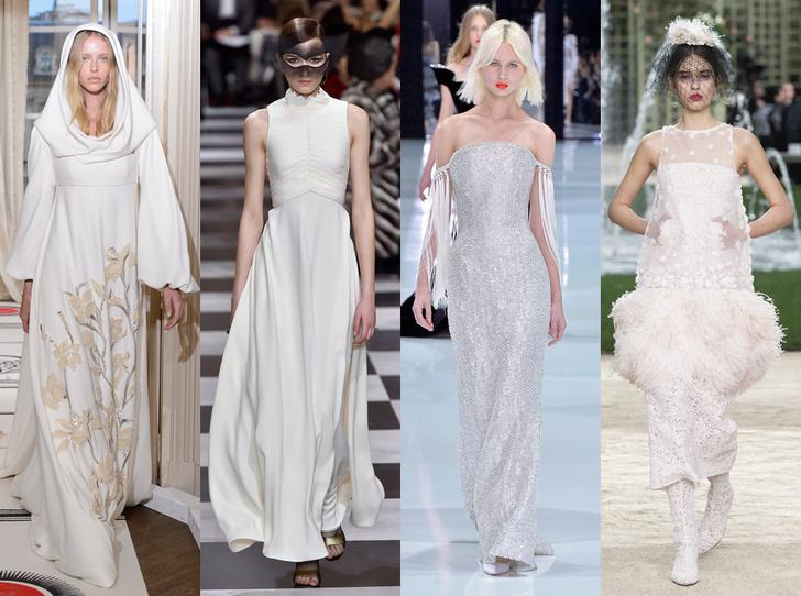 Фото №1 - 35 идей свадебных платьев с подиумов Недели высокой моды в Париже