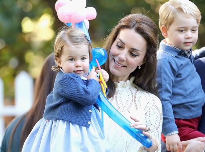 Фото №1 - Принцесса Шарлотта на своем первом светском мероприятии в Канаде