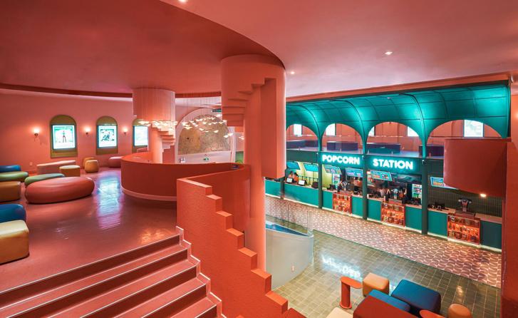 Фото №1 - Яркий кинотеатр Beta в Хошимине