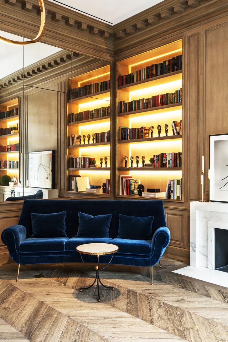 Фото №13 - Апартаменты с парижской атмосферой в Нью-Йорке