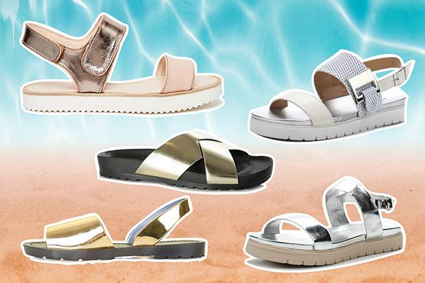 модные сандалии лето 2015