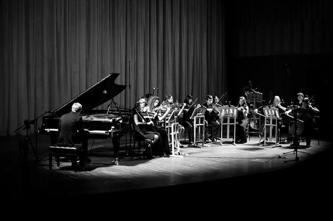 Фото №2 - День России в «Музеоне»: фортепианный концерт под открытым небом