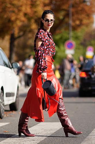 Фото №5 - Как носить самые модные юбки сезона: мастер-класс от звезд street style хроник