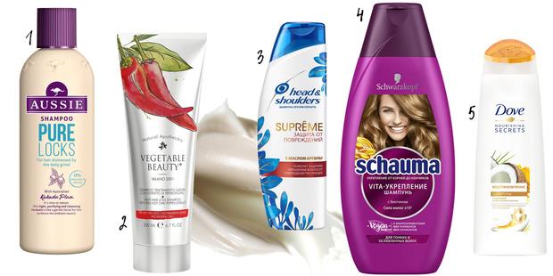 Фото №1 - Топ-5 крутых шампуней для укрепления волос