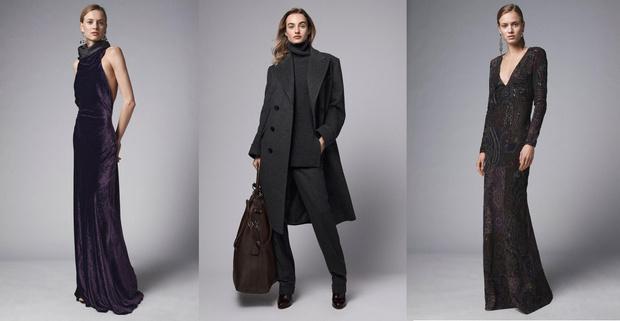 Фото №1 - Одежда для офиса и роскошные вечерние платья в коллекции Ralph Lauren