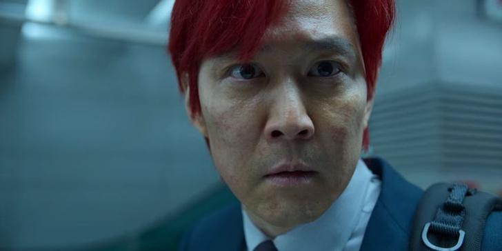 Фото №2 - «Игра в кальмара»: почему главный герой покрасил волосы в красный цвет?