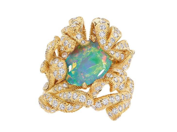 Фото №2 - Философский камень: опал в новой коллекции Dior et d'Opales