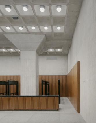 Фото №8 - Последнее здание Людвига Миса ван дер Роэ открылось после реконструкции