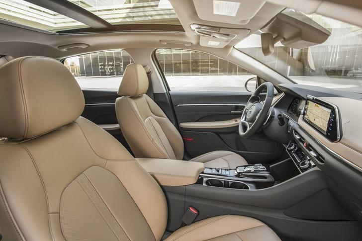 Фото №3 - Hyundai представила восьмое поколение модели Sonata