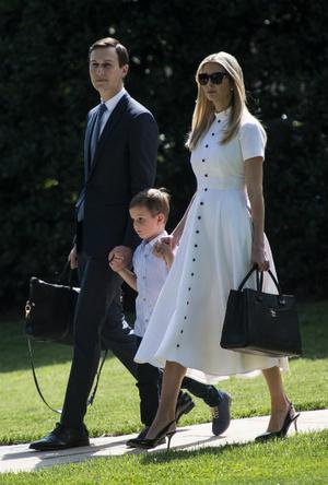 Фото №7 - Американские принцессы: что общего в стиле герцогини Меган и Иванки Трамп