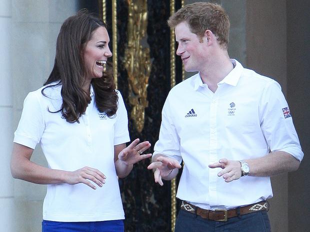 Фото №6 - Особая связь: самые трогательные и забавные фото Гарри и Кейт