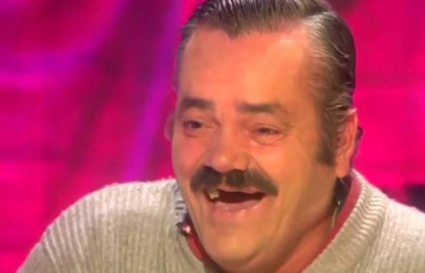 Фото №1 - Скончался «Хохотун», герой одного из самых популярных в мире мемов