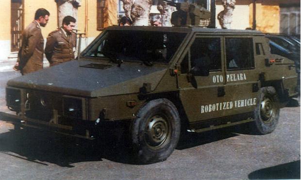 В начале 90-х на базе «Горгоны» сделали уникальный броневик с дистанционным управлением. Но испытания закончились неудачей и проект закрыли