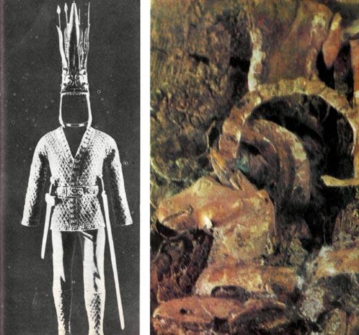 Фото №1 - Золотой человек кургана Иссык