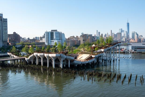 Фото №2 - Парк Little Island в Нью-Йорке по проекту Томаса Хезервика