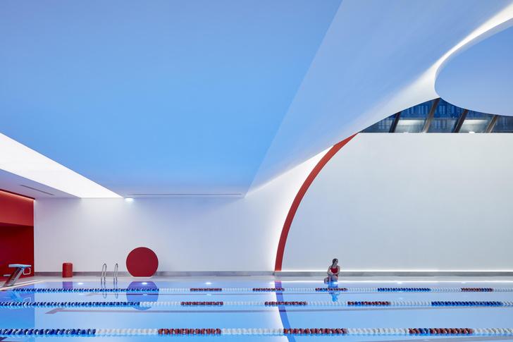 Фото №6 - Спортклуб World Class Алексеевская: проект VOX Architects