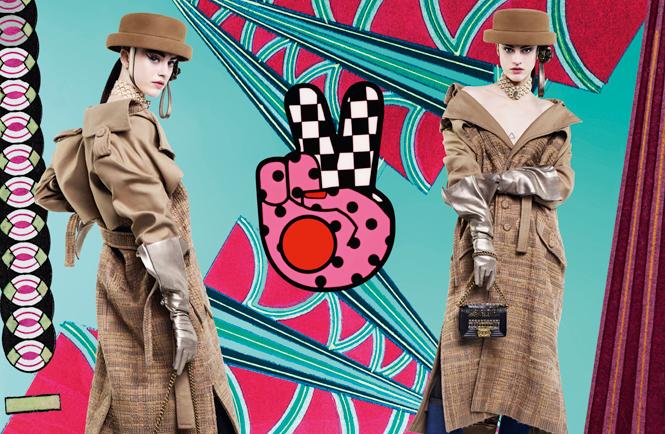 Фото №1 - Коллажи Карла Лагерфельда: креативная кампания Chanel FW 16/17