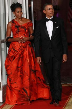 Фото №14 - От супруги президента к модной иконе: эволюция стиля Мишель Обамы