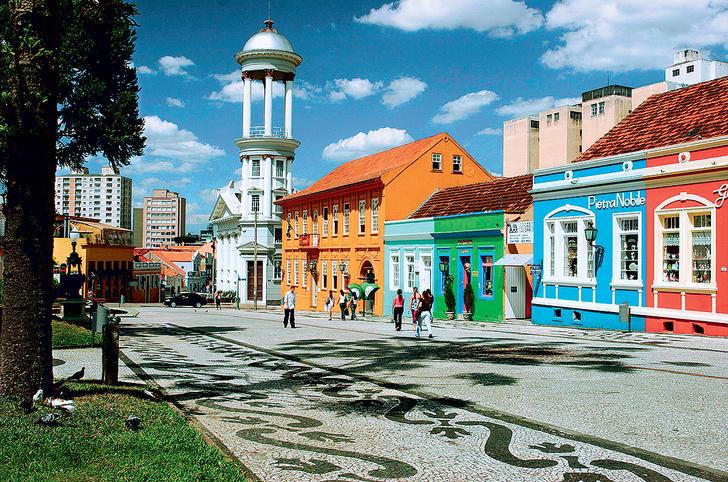 Фото №1 - Куритиба — город потерянных идей